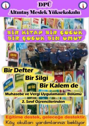 Okul Yardım Afiş